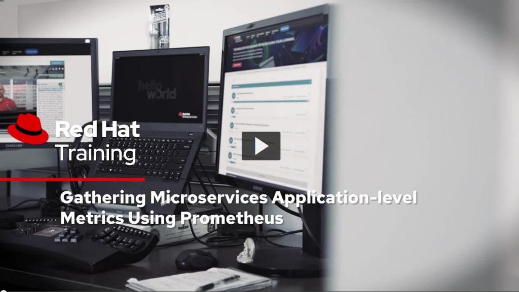 🎬 Gathering Microservices Application-level Metrics Using Prometheus